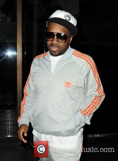 Jermaine Dupri at Mr Chow Los Angeles, California