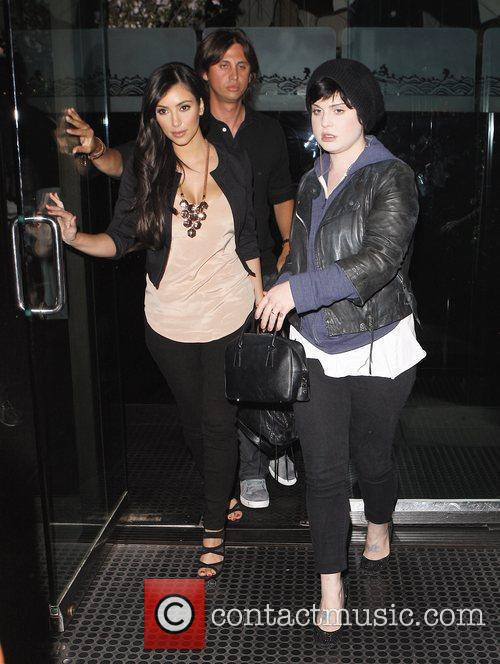 Kelly Osbourne and Kim Kardashian 2
