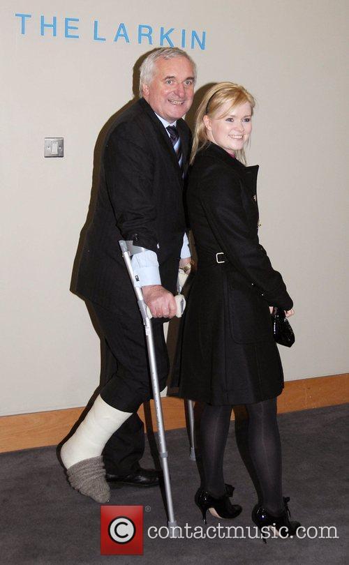 Bertie Ahern and Cecelia Ahern Cecelia Ahern's new...