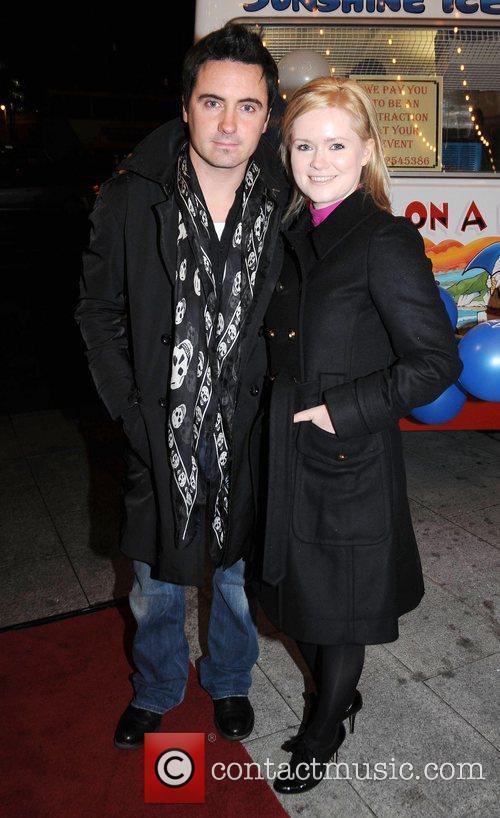 Dave Keoghan and Cecelia Ahern Cecelia Ahern's new...