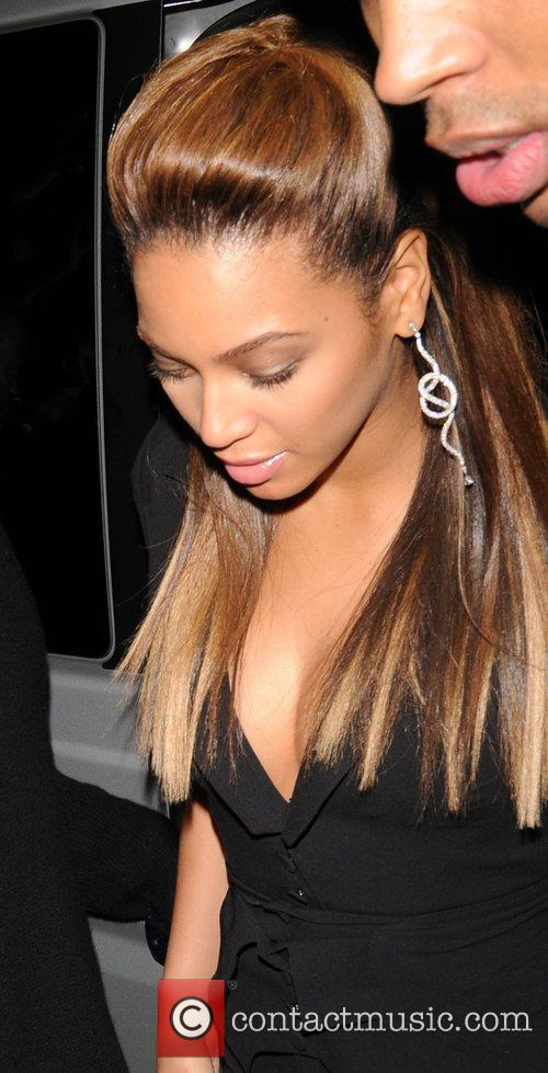 Beyonce Knowles MTV Europe Music Awards Return Party...