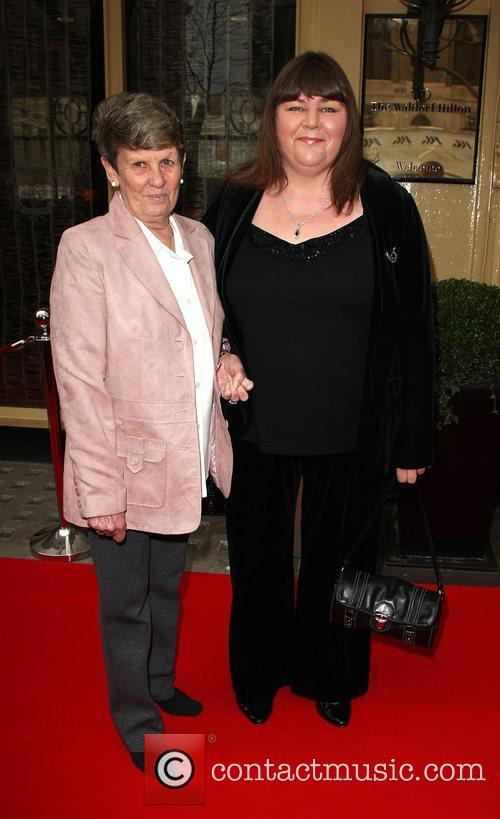Cheryl Fergison with her mother Tesco Magazine's Mum...