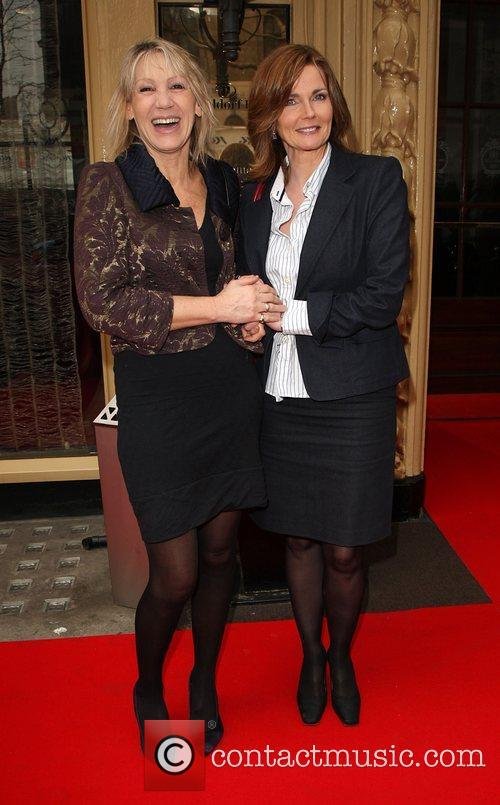 Ingrid Tarrant and Annabel Giles 2