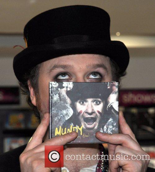Irish singer-songwriter Mundy performs and signs copies of...