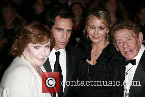 Anne Meara , Ben Stiller, Christine Taylor and...