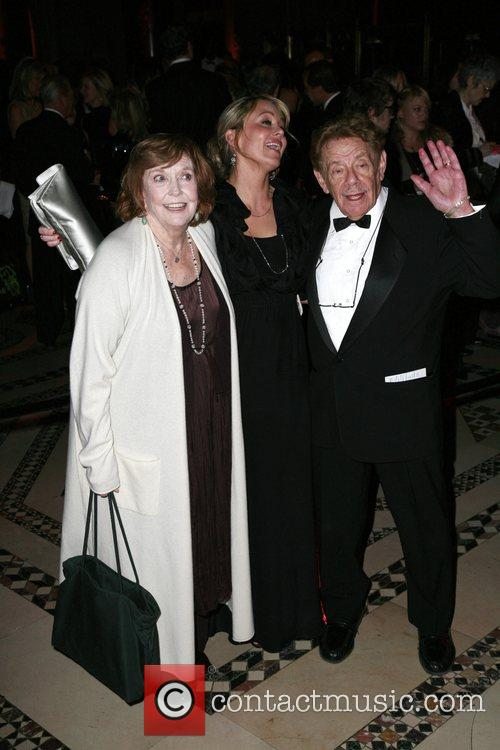 Anne Meara , Christine Taylor and Jerry Spiller...