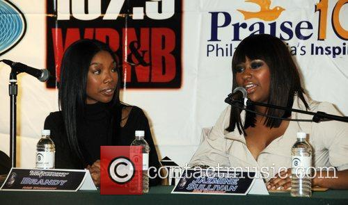 Brandy and Jazmine Sullivan