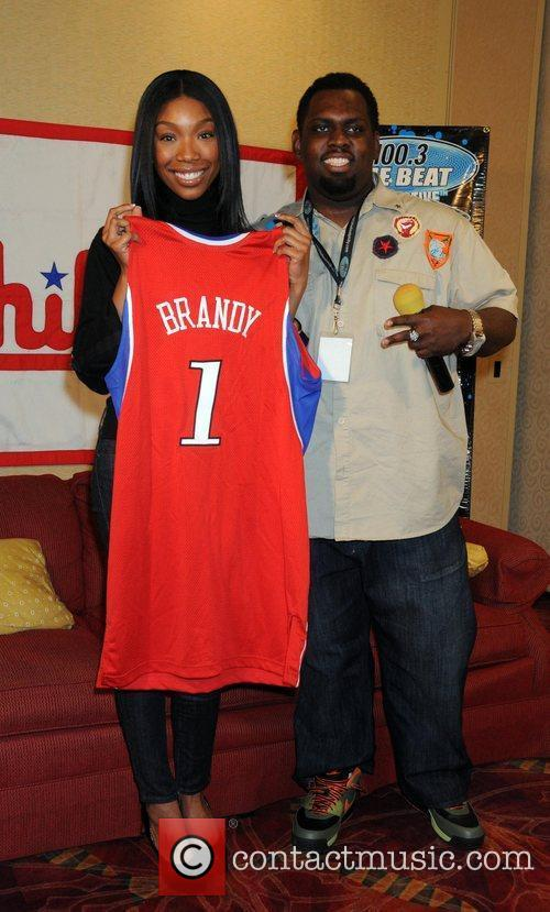 Brandy, DJ Izzo 100.3 The Beat hosts the...