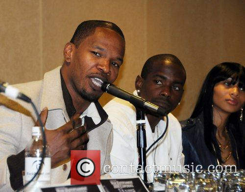 Jamie Foxx and Keith Robinson