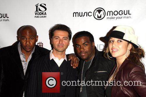 MusicMogul.com launch party held at the Thompson Hotel...