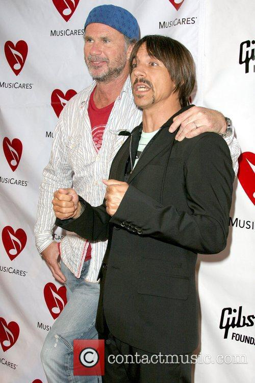 Chad Smith and Anthony Kiedis