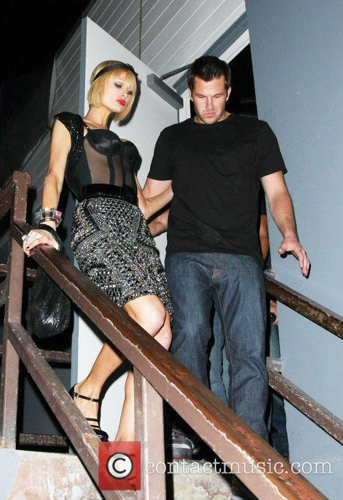 Paris Hilton and Doug Reinhartd leaving My House...