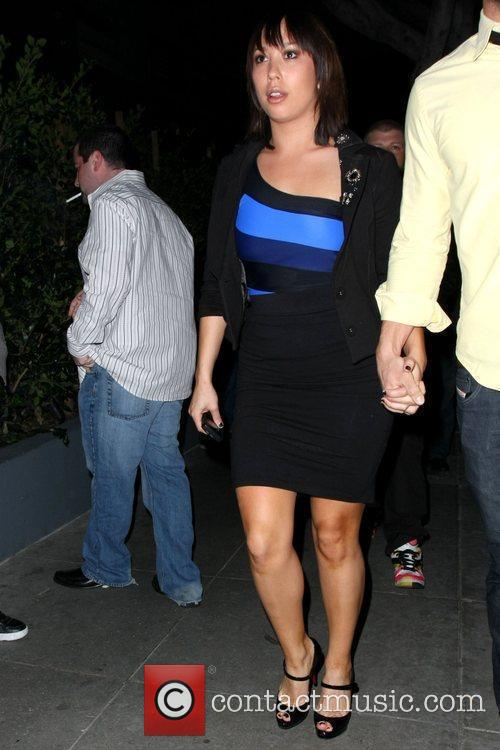 Celebrities arrive at My House nightclub in Hollywood