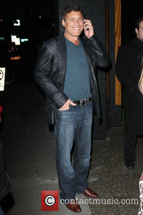 Steven Bauer Celebrities arrive at My House nightclub...