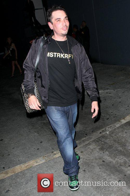Adam Goldstein, Aka Adam Goldstein and His Girlfriend Head Back To Their Car After An Evening At The My House Lounge 6