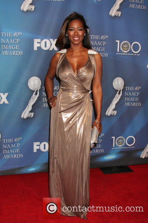 Kenya Moore  40th NAACP Image Awards held...