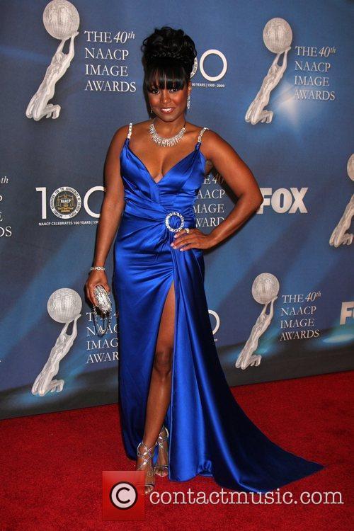 Keshia Knight Pulliam 40th NAACP Image Awards held...