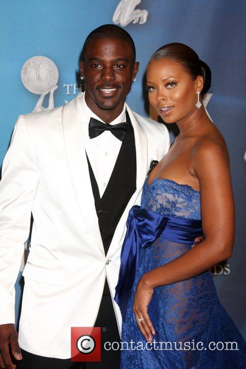 Lance Gross and Eva Marcille  40th NAACP...