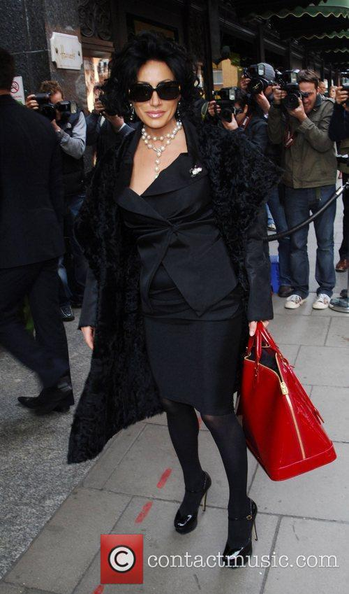 Arriving to shop at Harrods