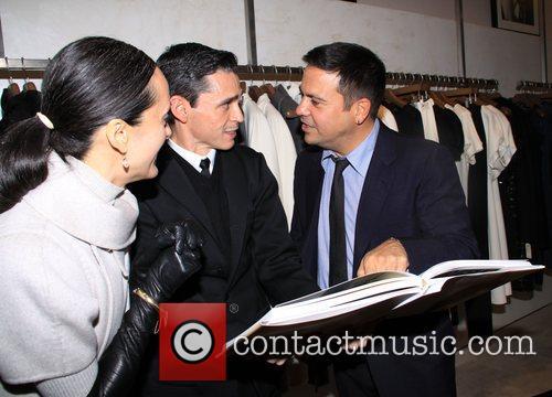 Isabel Toledo, Ruben and Narciso Rodriguez  at...