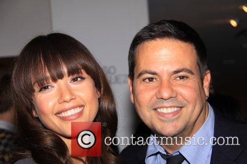 Jessica Alba and Narciso Rodriguez  at Narciso...
