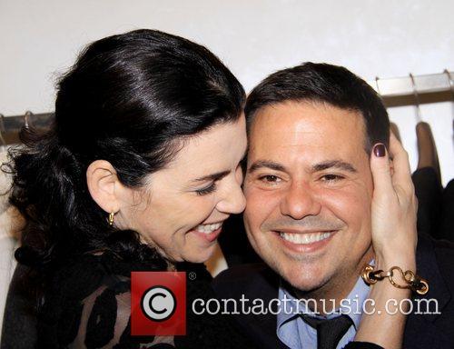 Juliana Marguiles and Narciso Rodriguez at Narciso Rodriguez...