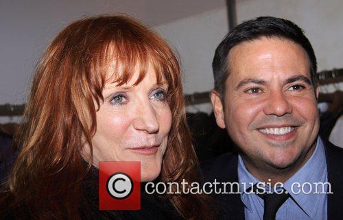 Patti Scialfa and Narciso Rodriguez at Narciso Rodriguez...