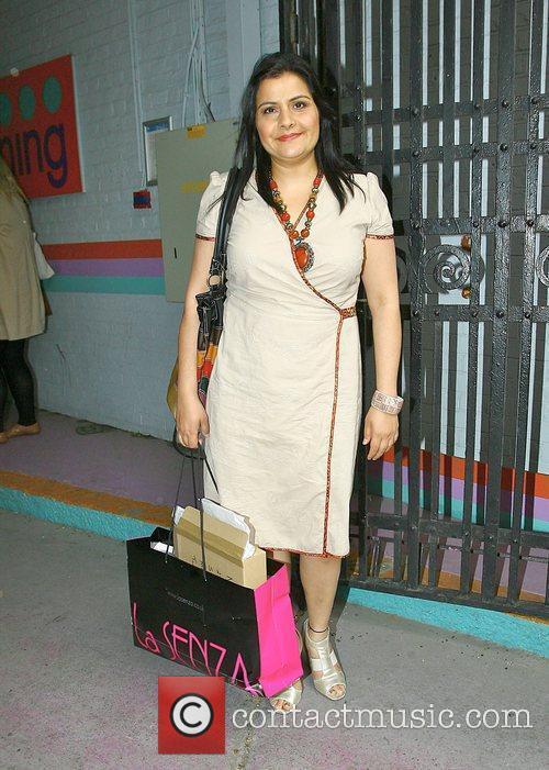 Nina Wadia who plays Zainab Masood in BBC...