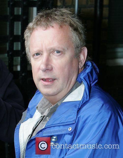Mark Williams leaving the 'This Morning' studios London,...
