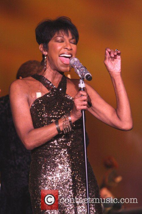 Natalie Cole performs at Buffalo Bill's hotel and...