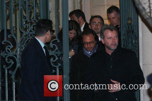 Celebrities attend the wake of Natasha Richardson at...