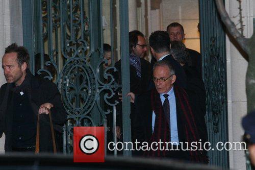 Ron Rifkin Celebrities attend the wake of Natasha...