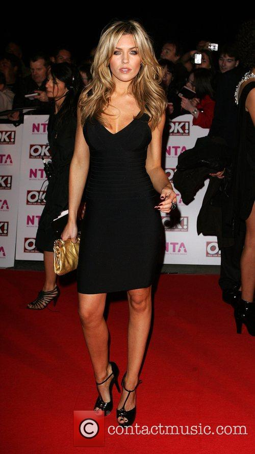 Abby Clancy National Television Awards 2008 held at...