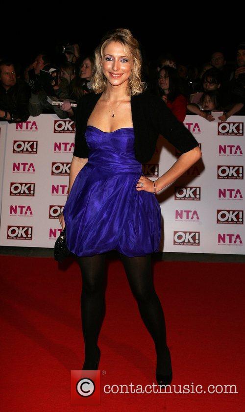 Ali Bastian National Television Awards 2008 held at...