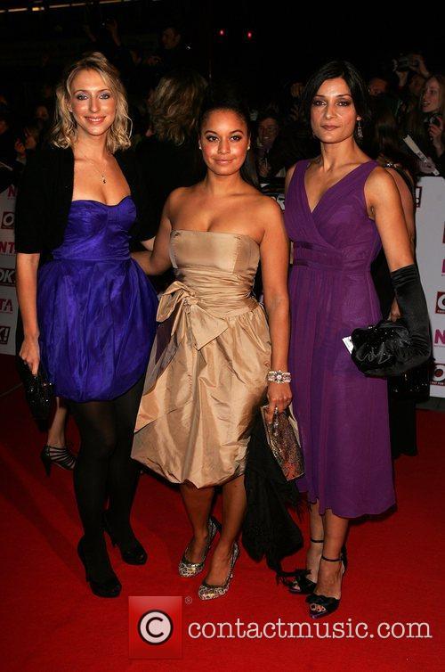 Ali Bastian and Guests National Television Awards 2008...