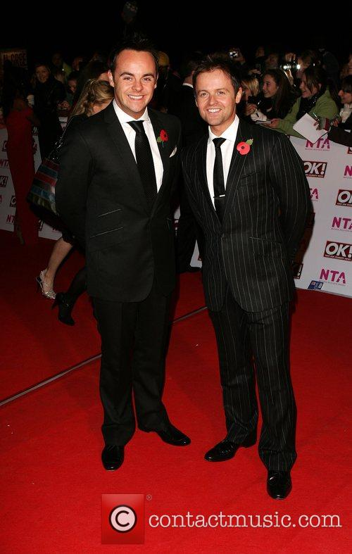 Anthony McPartlin and Declan Donnelly National Television Awards...
