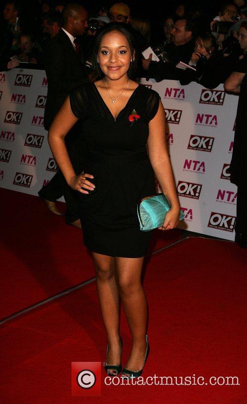 Belinda Owusu National Television Awards 2008 held at...