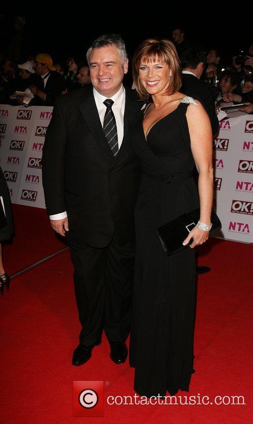 Eamonn Holmes and Ruth Langsford National Television Awards...