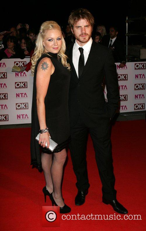 Rita Simons and Rob Kazinsky National Television Awards...