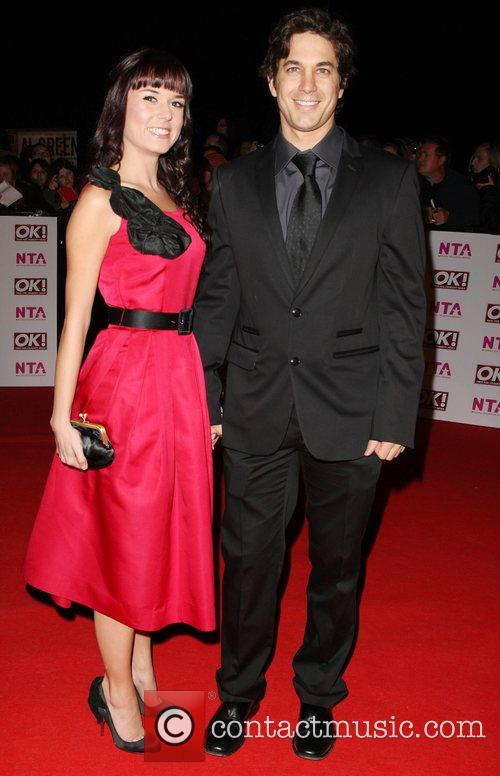 Adam Garcia and Guest National Television Awards 2008...