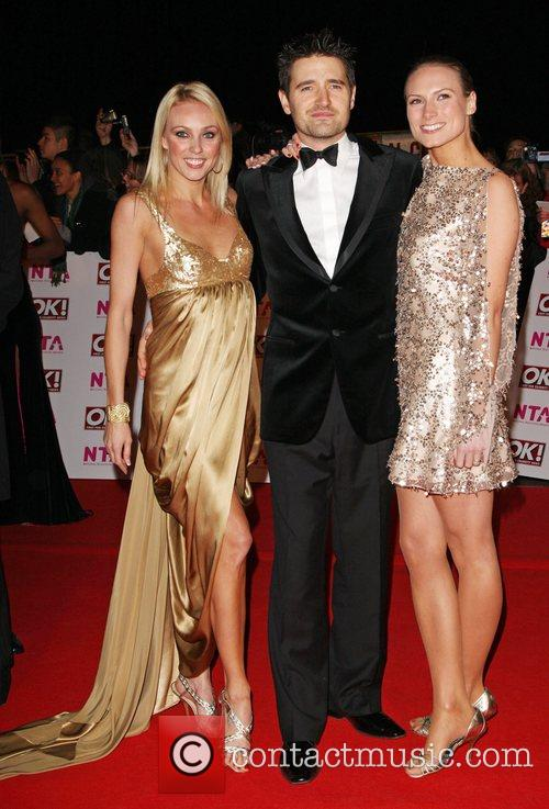 Camilla Dallerup, Tom Chambers and Claire Harding National...