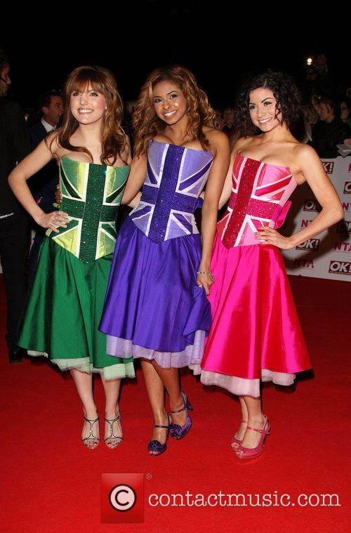 Claudine, Lauren and Lola, the Cast of Britannia...
