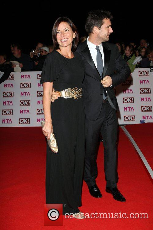 Davina McCall with her husband National Television Awards...