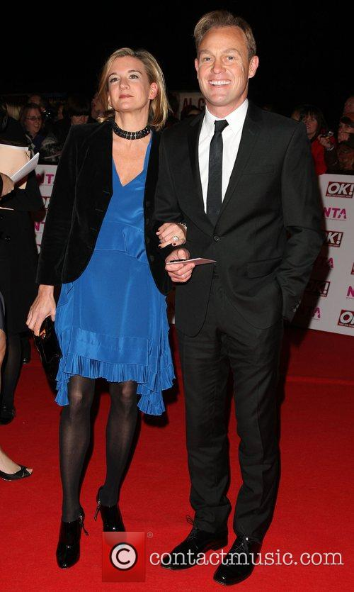 Jason Donovan with his wife Angela Malloch National...