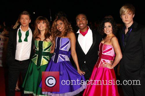 The Cast of Britannia High National Television Awards...