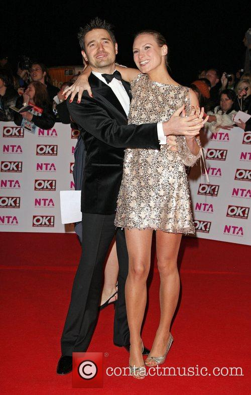 Tom Chambers and Claire Harding National Television Awards...