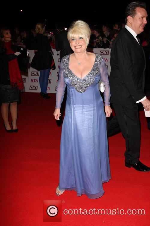 Barbara Windsor National Television Awards 2008 held at...
