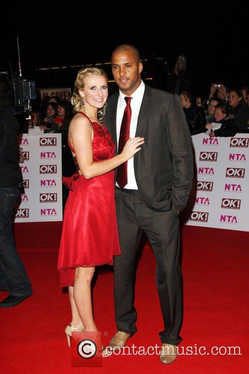 Carley Stenson and Guest National Television Awards 2008...