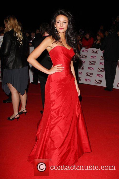 Michelle Keegan National Television Awards 2008 held at...