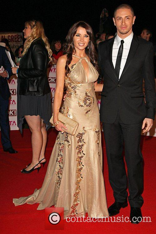 Dannii Minogue and Brian Friedman National Television Awards...
